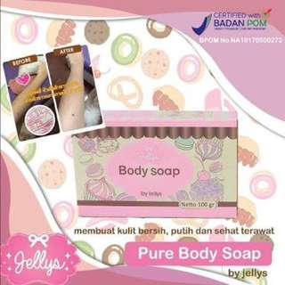 Pure soap Bpom