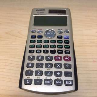 CASIO financial calculator FC-200V 計數機