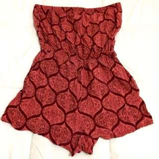 FOREVER 21 Romper Tube Dress