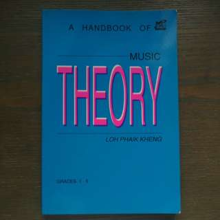 Handbook of music theory