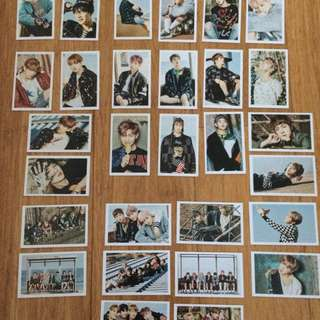 BTS You Never Walk Alone unofficial photocards!