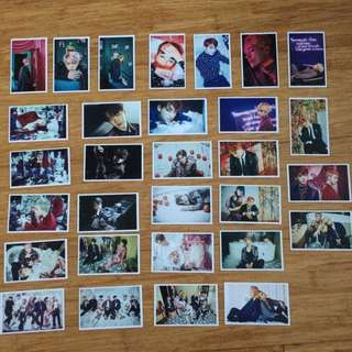 BTS Wings concept unofficial photocards!