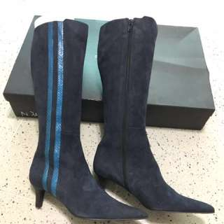 Guy Laroche Long boots made in Italy