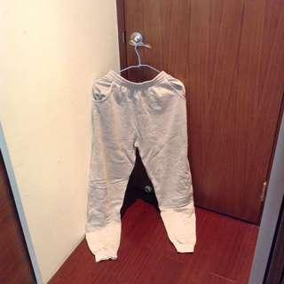 運動棉褲 灰褲/厚棉