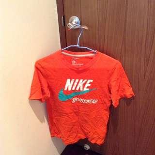 Nike女版 M號/橘