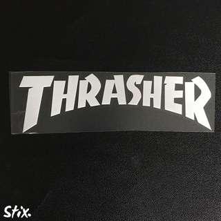 Thrasher Vinyl Cut Sticker