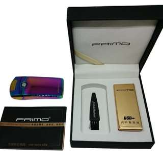 PRIMO USB Rechargeable Windproof Lighter