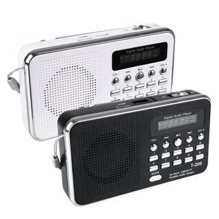 Travel Light & Portable Radio with MP3 AL-QURAN