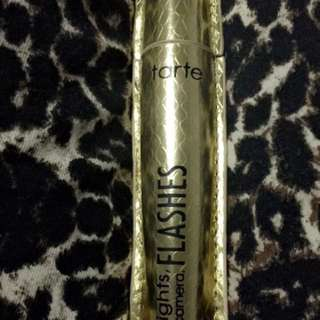 Lights camera flashes tarte mascara