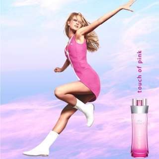 LACOSTE TOUCH OF PINK (W) EDT 90ML ( TESTER )
