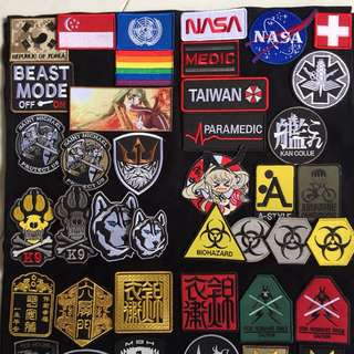 Quick glance of the patches