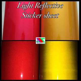 Reflective Vinyl Sheet