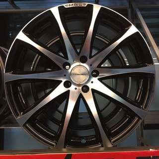 19吋二手鋁圈(一咖5000 有四咖)還有輪胎皮
