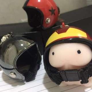 攪鬼頭盔鎖匙扣(星星系列)