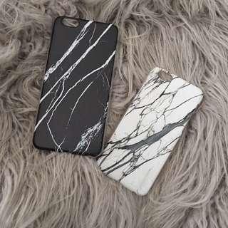 IPHONE marble Cases 6s Plus 5