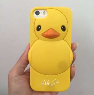 B Duck 3D Rubber Case for iPhone 5