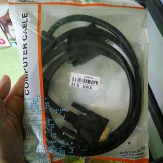 Kabel VGA komputer