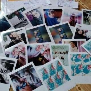 Polaroid Printing Services (0.70sen/pcs min 100pcs)