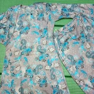 Kurung Pahang Paisley Design