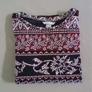 H&M Printed Sweater