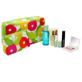 CLINIQUE  7 Piece Skin Care and Cosmetics Set