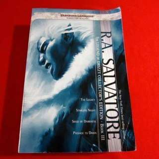 The Legend of Drizzt: Collector's Edition Book III by R. A. Salvatore