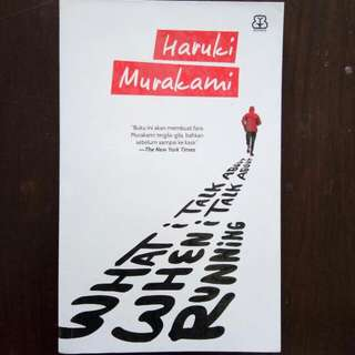 What I Think About When I Think About Running (Haruki Murakami) Preloved