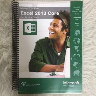 Microsoft Office Excel 2013 Core