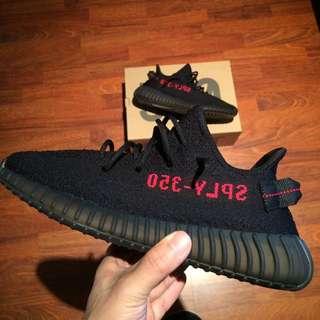 Adidas Yeezy Boost 350 V2 Bred 黑紅