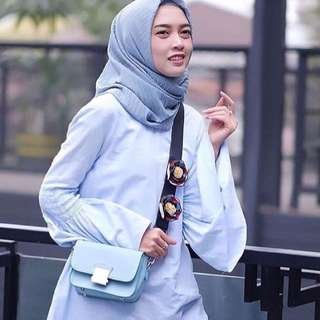 Zara Floral Blue And Yellow