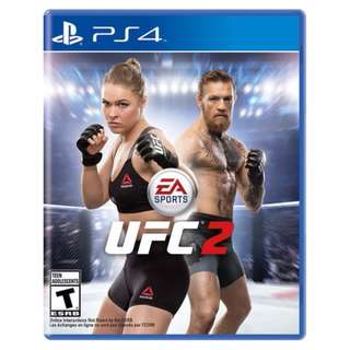 BRAND NEW Authentic PS4 Sony UFC2 UFC 2 EA Sports EASports PlayStation 4 Game CD Gaming Play Station