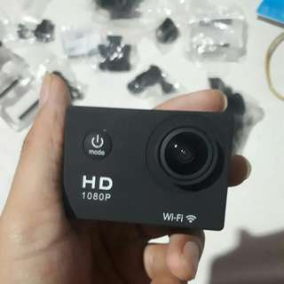 Action camera - Sports Cam  - Waterproof - Full HD 1080P