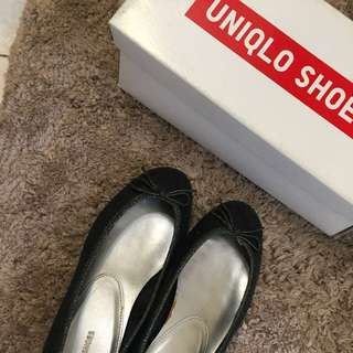[出清品]日本購入 非常好穿 平底鞋 35-36號