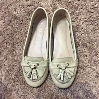 [出清品]女鞋 白色百搭休閒鞋 36號