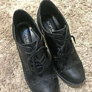 [出清品]專櫃女鞋 牛津鞋 36號