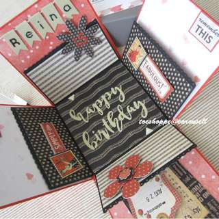Birthday Gift Box Album