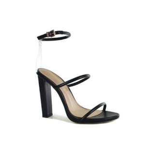 WANTED limited edition black heels