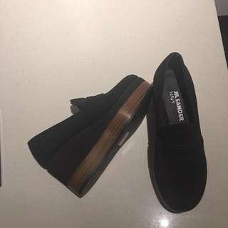 Jil Sander Platform loafers