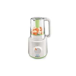 Pre-loved (Only Used Once)Philips Avent combined Steamer and Blender