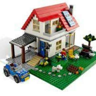 LEGO 3in1 Hillside House CREATOR