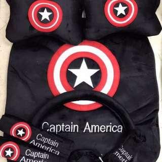 Captain America Car Seat & Accessoriea Covers