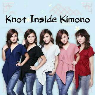 KNOT INSIDE KIMONO