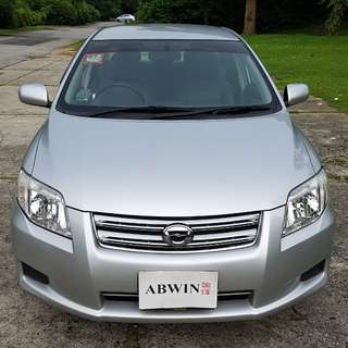 (New 5yrs Coe) Toyota Corolla Axio 1.5x A