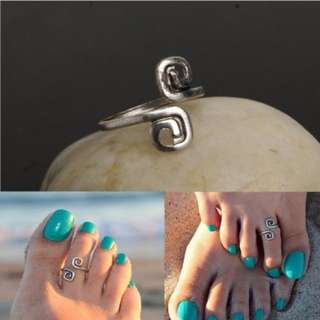 Aztec Toe Ring