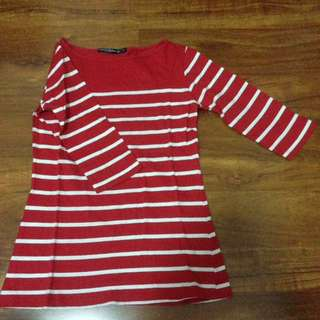 polo tshirt red