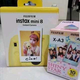 Camera Polaroid Fujifilm Instax Mini 8