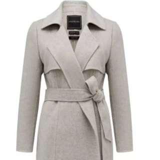 Forever New Lena Maxi Coat Sz 14 And Sz 16