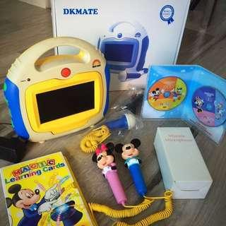 迪士尼美語 World Family 播放機+米奇米妮咪