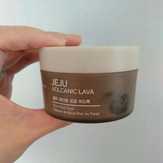 The face Shop Jeju Volcanic Mask