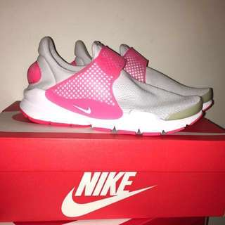 新品降價!全新 Nike Sock Dart GS Pink White 正品 螢光粉紅白
